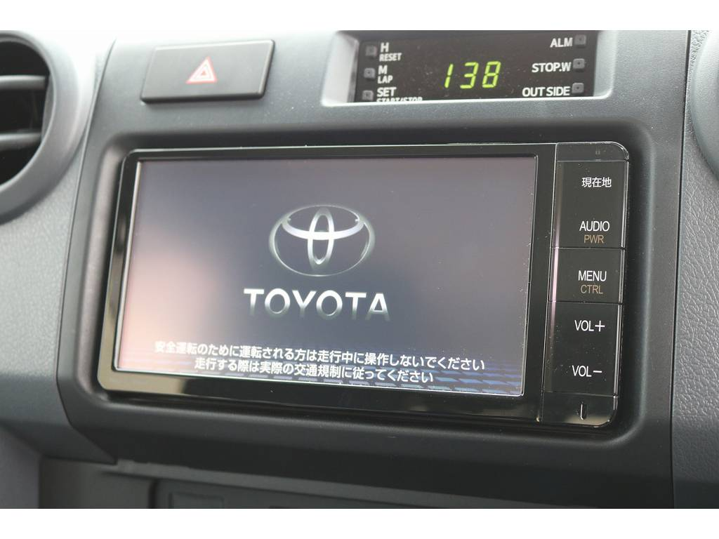 純正SDナビTV装備済み!