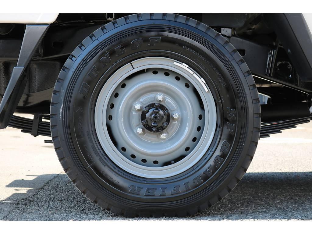 純正鉄チンホイール! | トヨタ ランドクルーザー70ピックアップ 4.0 4WD