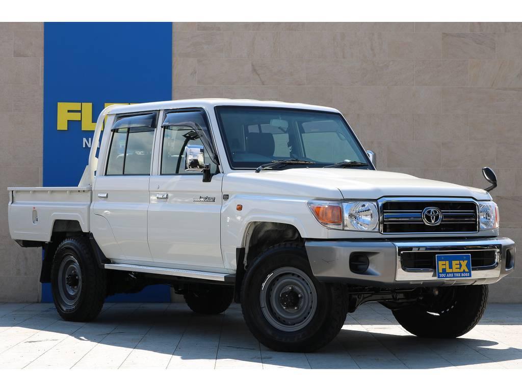 全車法定点検整備後の更新型、保証付き販売となります! | トヨタ ランドクルーザー70ピックアップ 4.0 4WD