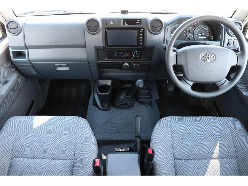 インパネ廻り! | トヨタ ランドクルーザー70ピックアップ 4.0 4WD