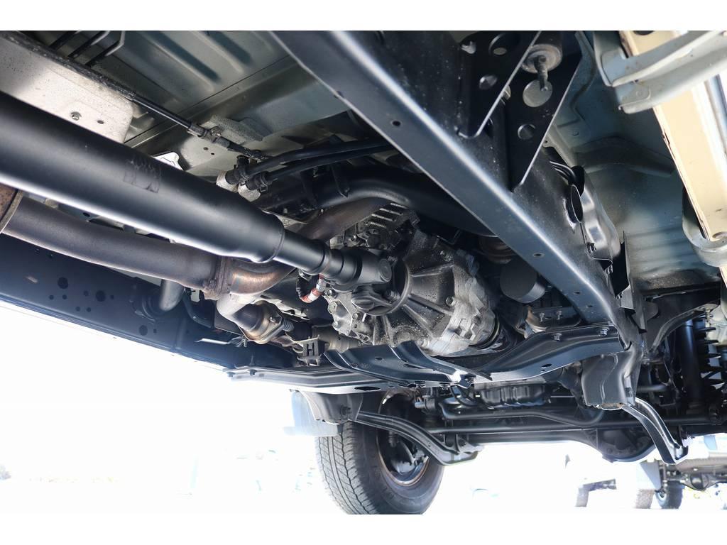 下廻りは洗浄後、防腐パスター仕上げを施してからのお渡しとなります! | トヨタ ランドクルーザー70 4.0 4WD 30thアニバーサリー