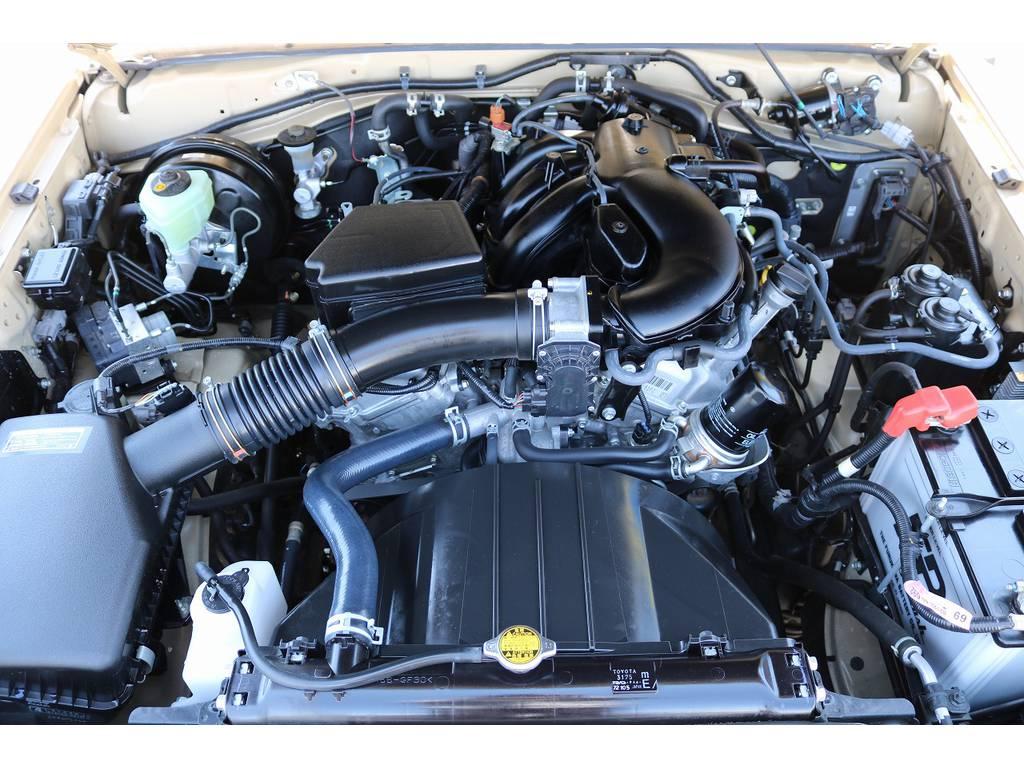 エンジンルーム! | トヨタ ランドクルーザー70 4.0 4WD 30thアニバーサリー