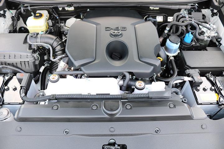クリーンディーゼルモデル!トルクフルな走りと、燃費の良さが特徴ですね!