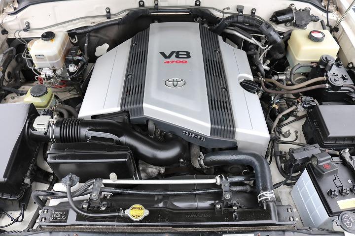 V8エンジン搭載!タイミングベルトは交換済みです!