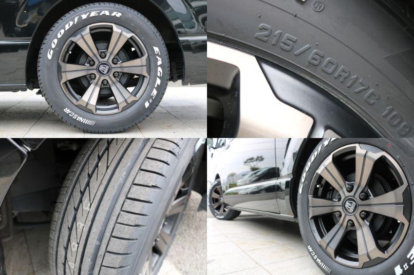 新品バルベロ17インチAW&ナスカー215タイヤ!