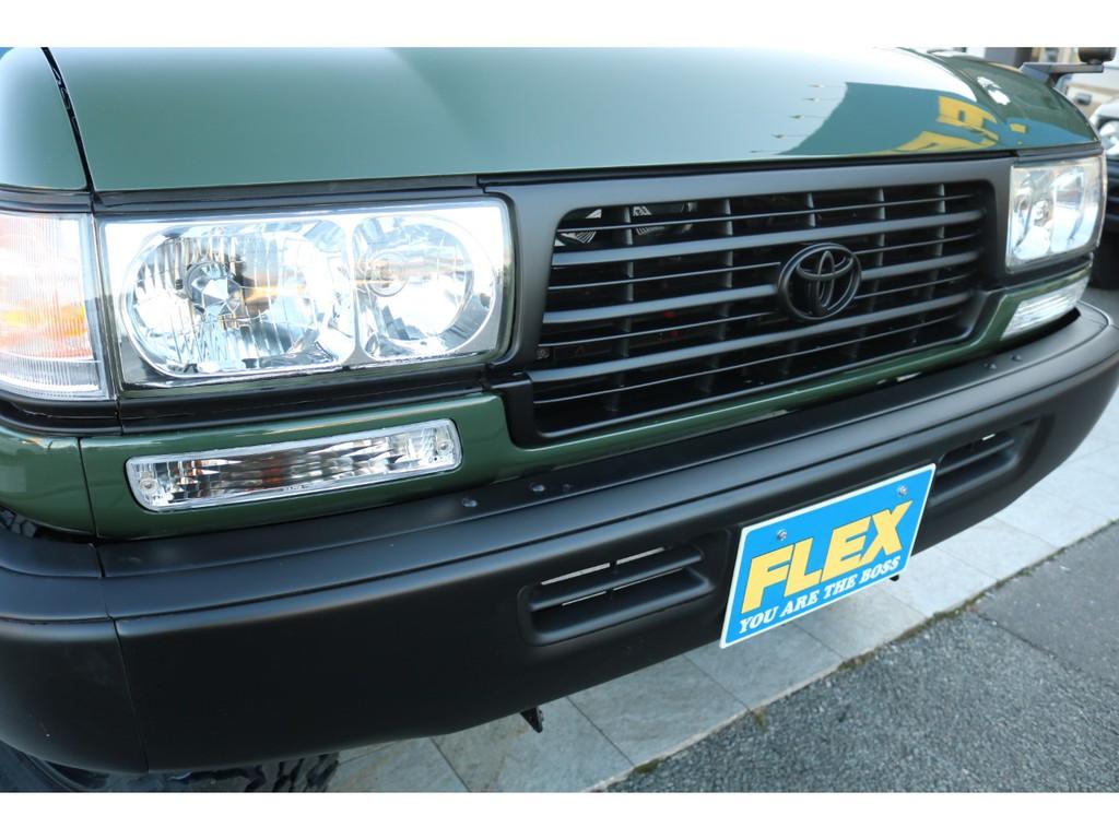 グリーン×Mブラック塗装の相性も良いですね!