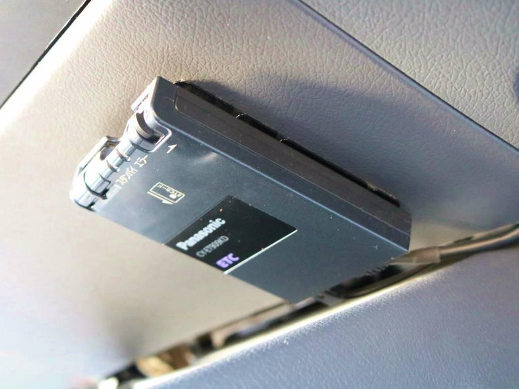 現代では必須のETC装着済み! | トヨタ ランドクルーザー80 4.5 VXリミテッド 4WD 丸目換装 60フェイス