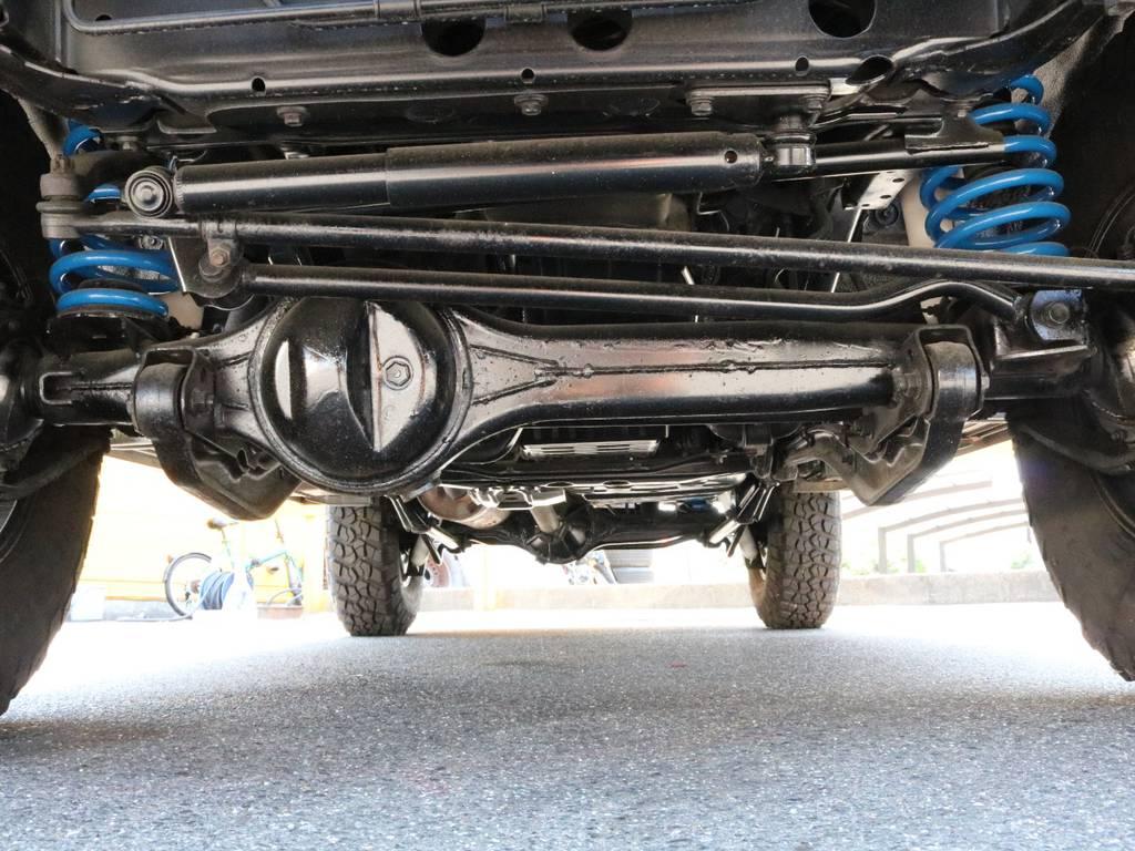 足回りも錆を落としてから錆止め防止をしております!! | トヨタ ランドクルーザー80 4.5 VXリミテッド 4WD 丸目換装 60フェイス