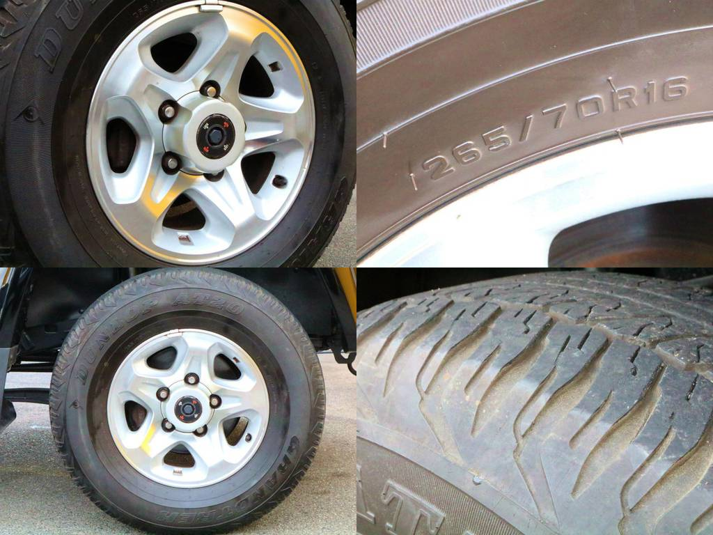 タイヤの残り溝もまだ御座います☆カスタムも大歓迎です☆   トヨタ ランドクルーザー70 4.0 4WD 再販モデル NEWペイント202ブラック