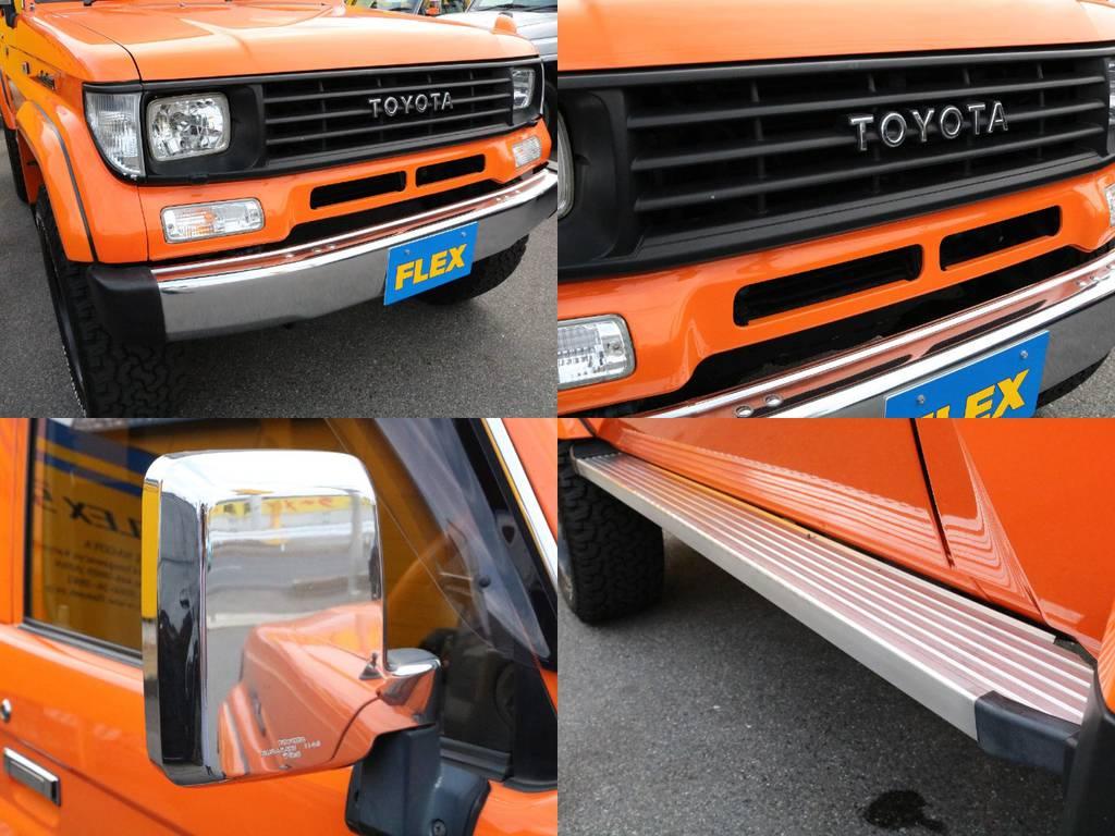 | トヨタ ランドクルーザープラド 3.0 SXワイド ディーゼルターボ 4WD FJオレンジオールペイント