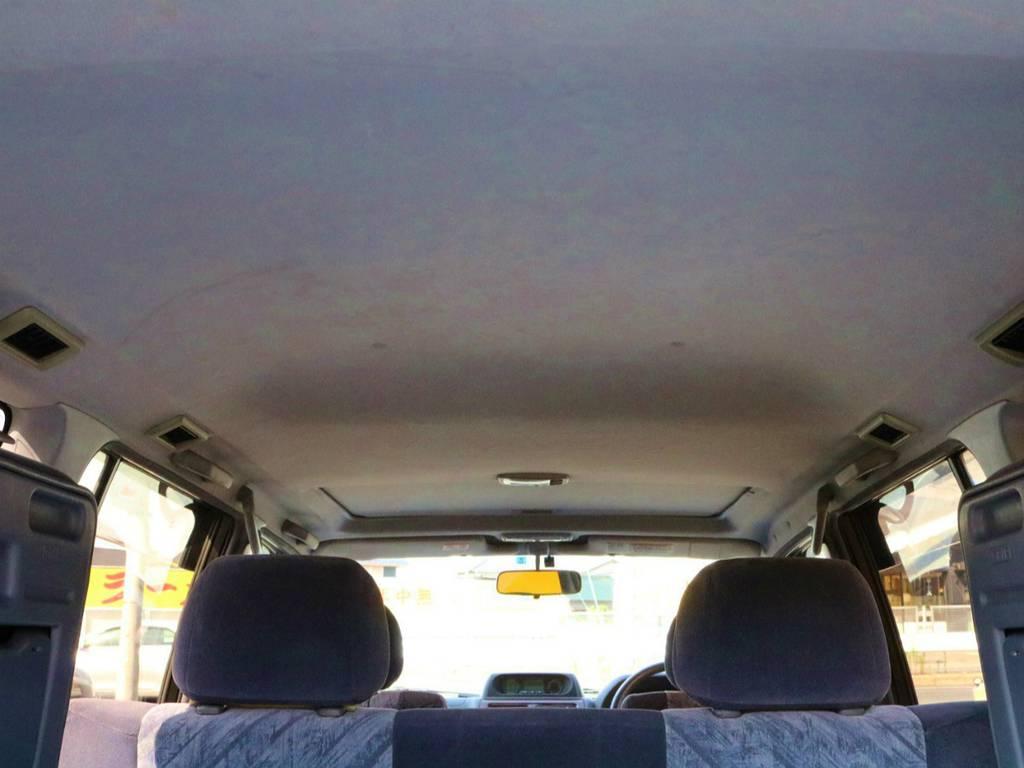 天張りは破れなどはございません! | トヨタ ランドクルーザープラド 3.0 TZ ディーゼルターボ 4WD クラシックコンプリート