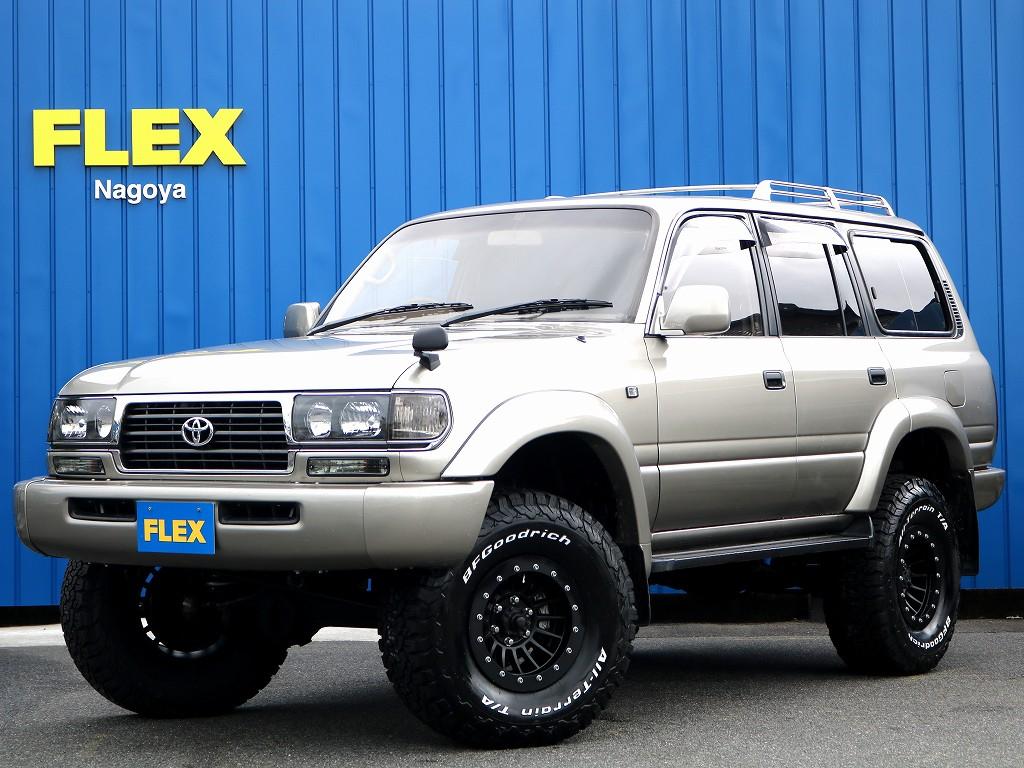平成8年 ランクル80 VX-LTD 後期最終型の入庫です。