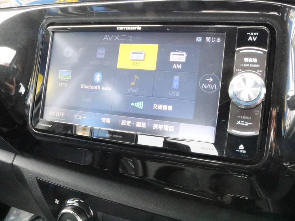 新品カロッツェリアナビをインストール。好きな音楽を聴きながら、どこへでも行けちゃいます! | トヨタ ハイラックス 2.4 Z ディーゼルターボ 4WD