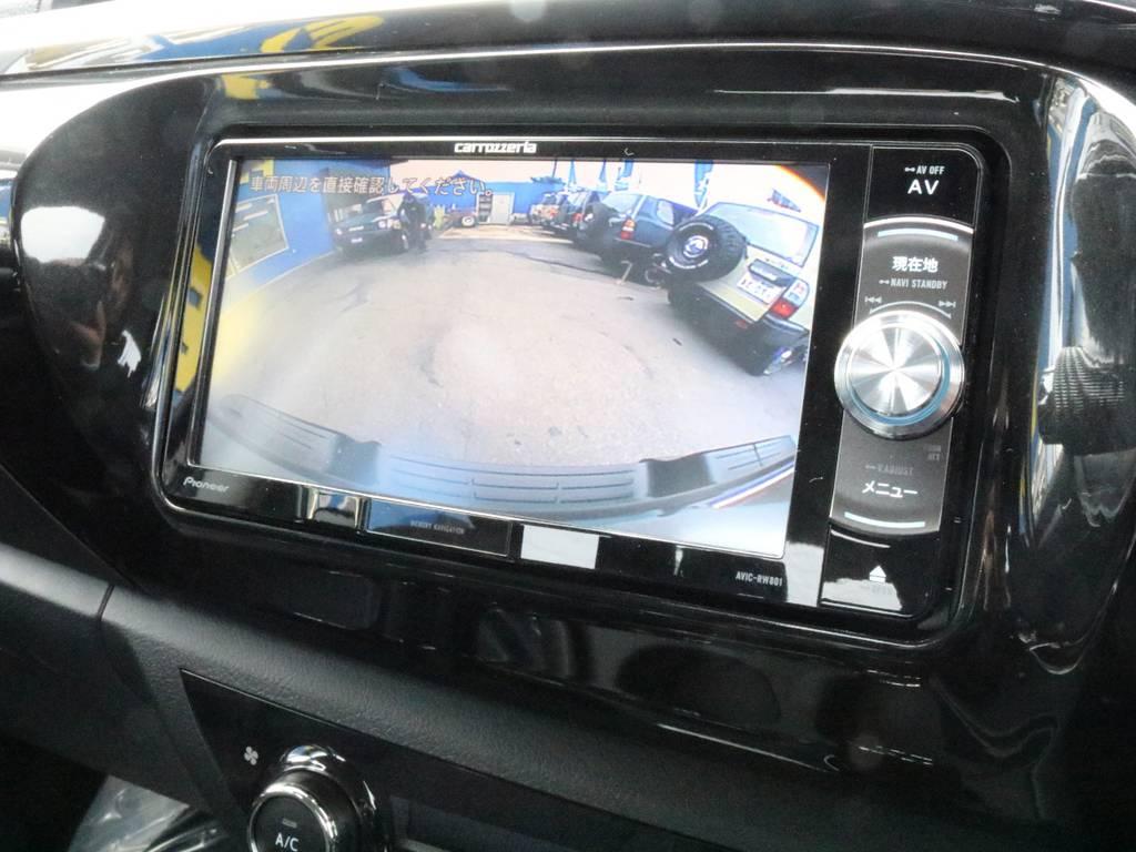 新品バックカメラで見えにくい後方もカバー!不安なバック駐車も安心ですね。 | トヨタ ハイラックス 2.4 Z ディーゼルターボ 4WD