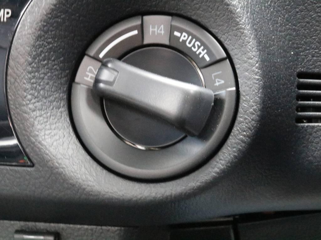 オンロードもオフロードも思いのままに!パートタイム4WDシステムの切り替えが可能です。 | トヨタ ハイラックス 2.4 Z ディーゼルターボ 4WD