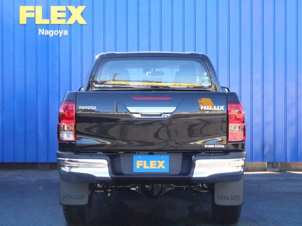 ブラックのボディー色にメッキパーツがとてもキマッてます! | トヨタ ハイラックス 2.4 Z ディーゼルターボ 4WD