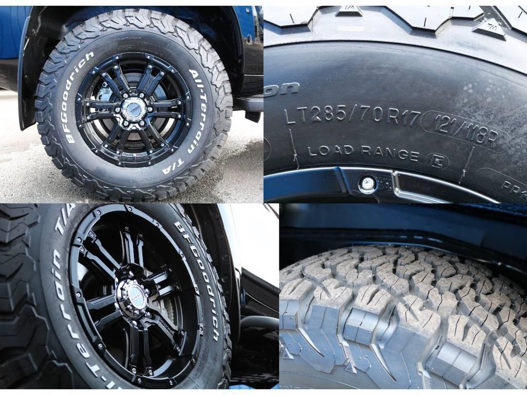 新品RAYS17インチAW!BFグッドリッチ285/70R17!! オシャレは足元からですね。お問い合わせお待ちしております。 | トヨタ ランドクルーザープラド 2.8 TX ディーゼルターボ 4WD 5人