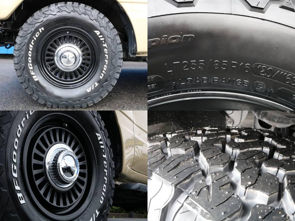 タイヤホイールは新品をインストールしております。 | トヨタ ランドクルーザー100 4.7 VXリミテッド 4WD RenocaType106