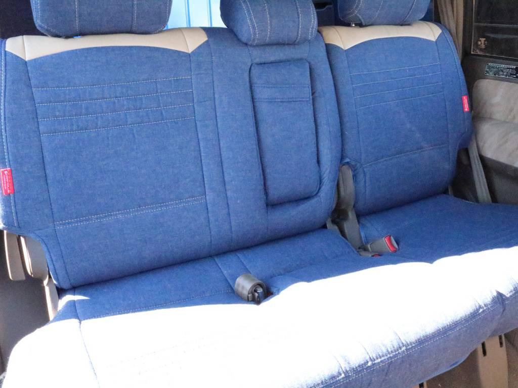 2列目シートも広々お使い頂く事が可能です。 | トヨタ ランドクルーザープラド 3.4 TX 4WD