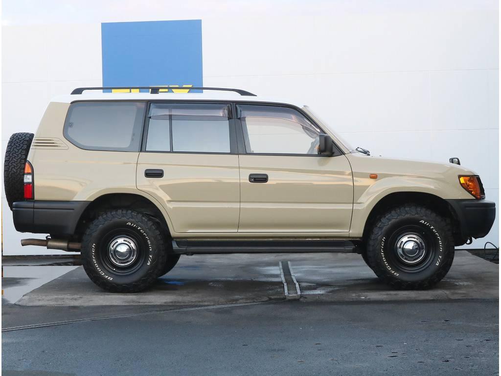 新品2インチリフトアップ済!迫力もある一台です♪ | トヨタ ランドクルーザープラド 3.4 TX 4WD