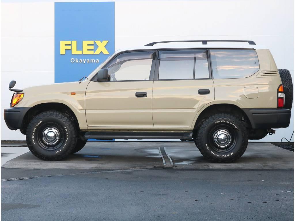 年々相場が上がってきております!程度が良い車輛も少しずつ減ってきておりますので、是非ご検討下さいませ! | トヨタ ランドクルーザープラド 3.4 TX 4WD