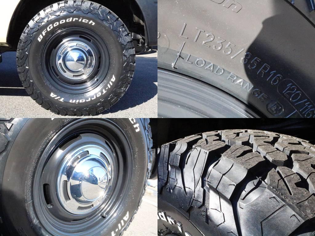 新品BFG ATタイヤ&新品クリムソンDEENクロスカントリーAW装着済♪ | トヨタ ランドクルーザープラド 3.4 TX 4WD