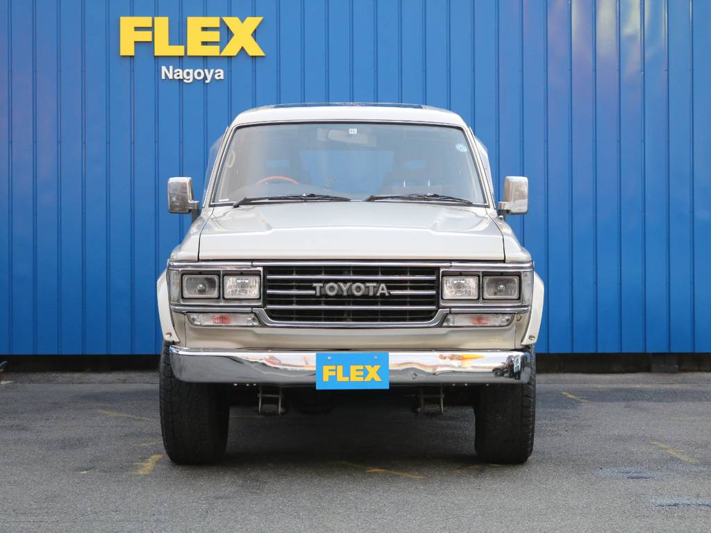 1300台中の1台がランクル名古屋店へやってまいりました。 | トヨタ ランドクルーザー60 4.0 VX ハイルーフ 4WD フルオリジナル 角目四灯