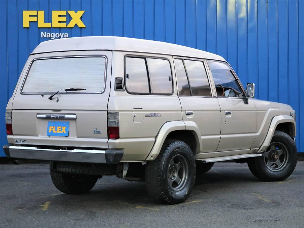 当時はキーレスなしですが、社外キーレス付きでとても便利です。 | トヨタ ランドクルーザー60 4.0 VX ハイルーフ 4WD フルオリジナル 角目四灯