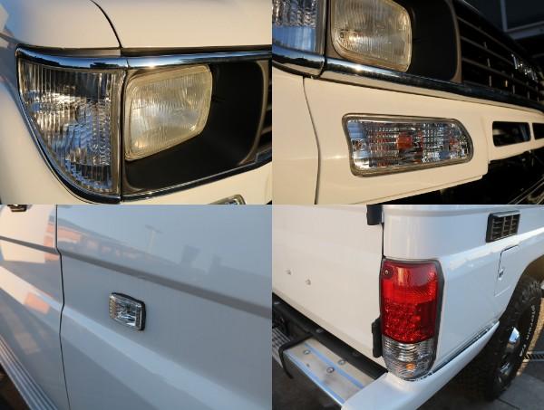 各種灯火類クリアランプにて! | トヨタ ランドクルーザープラド 3.0 EXワイド ディーゼルターボ 4WD