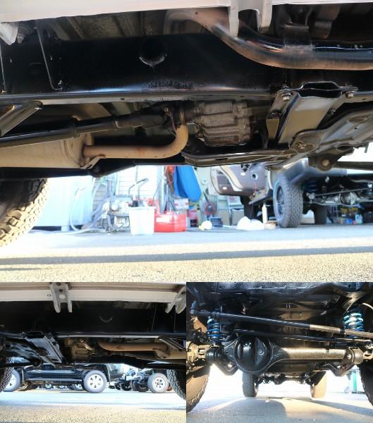 足回りはパスター塗装済みです。 | トヨタ ランドクルーザープラド 3.0 EXワイド ディーゼルターボ 4WD