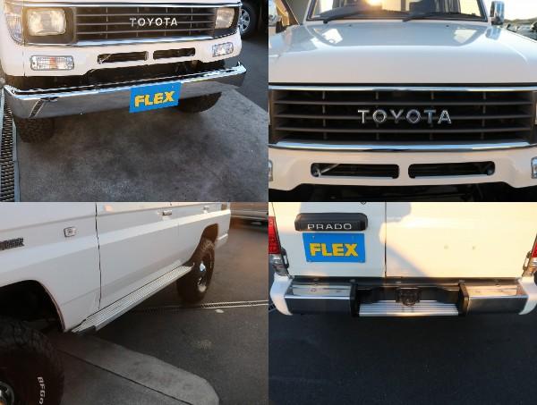 任意保険ご相談下さい。 | トヨタ ランドクルーザープラド 3.0 EXワイド ディーゼルターボ 4WD