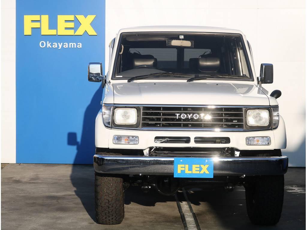 新品輸出用ホイールを装着! | トヨタ ランドクルーザープラド 3.0 EXワイド ディーゼルターボ 4WD