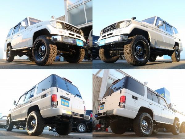 78プラド入荷致しました! | トヨタ ランドクルーザープラド 3.0 EXワイド ディーゼルターボ 4WD
