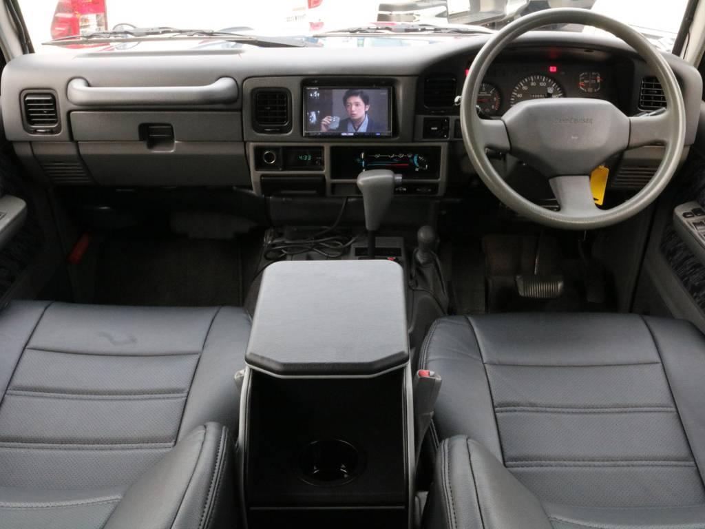 NEWペイント・アルルブルー×ソリッドホワイトです。 | トヨタ ランドクルーザープラド 3.0 SXワイド ディーゼルターボ 4WD 2インチアップ