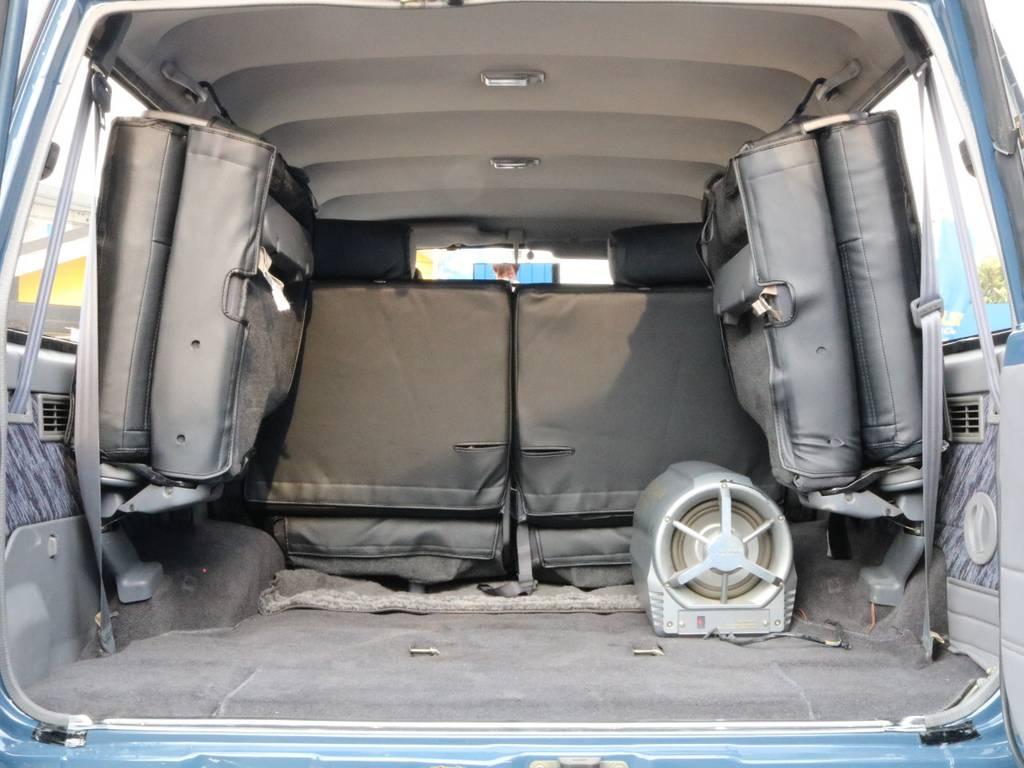 3列装備!!使い勝手色々! | トヨタ ランドクルーザープラド 3.0 SXワイド ディーゼルターボ 4WD 2インチアップ