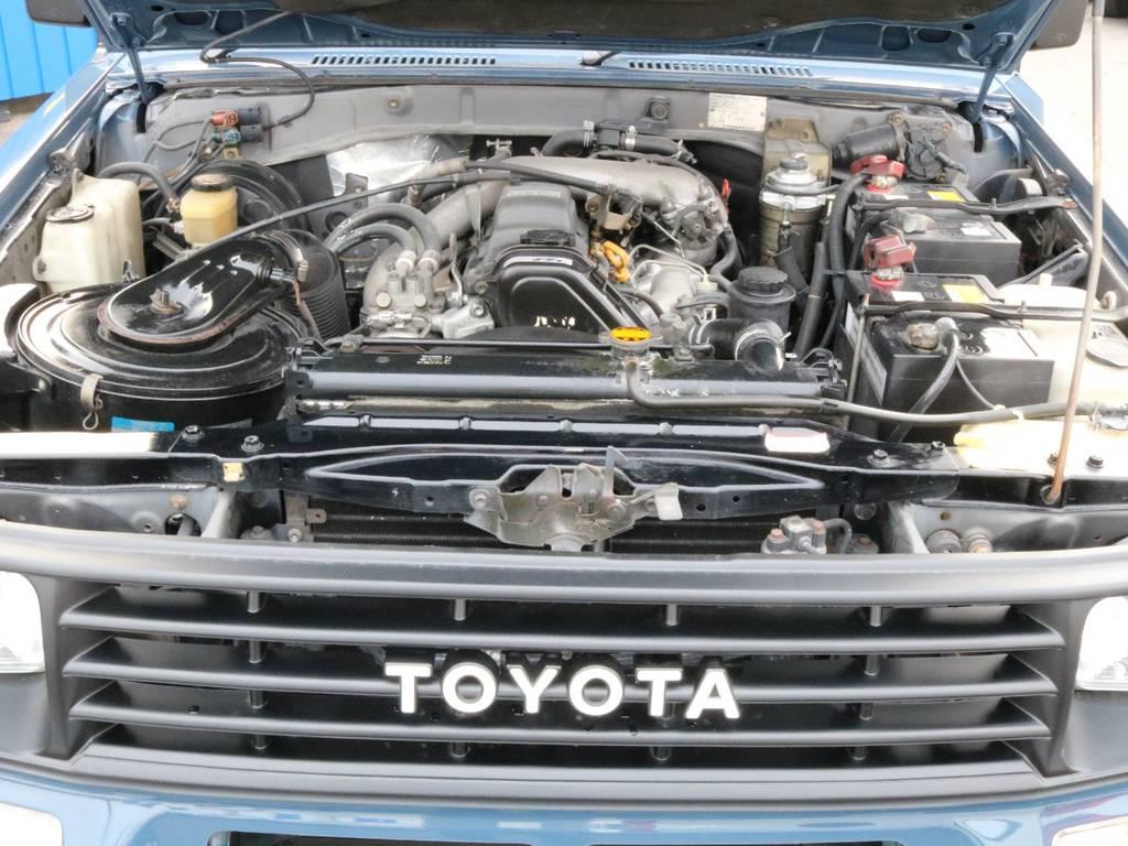 走行14万キロ台と嬉しいですよね。 | トヨタ ランドクルーザープラド 3.0 SXワイド ディーゼルターボ 4WD 2インチアップ
