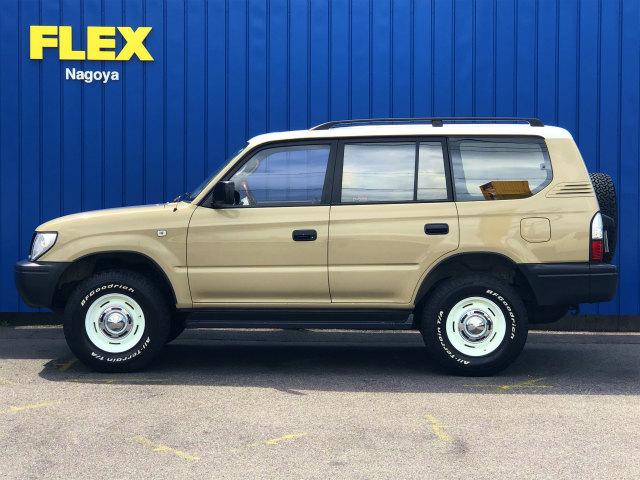 | トヨタ ランドクルーザープラド 2.7 TX 4WD 丸目換装 クラシックコンプリート