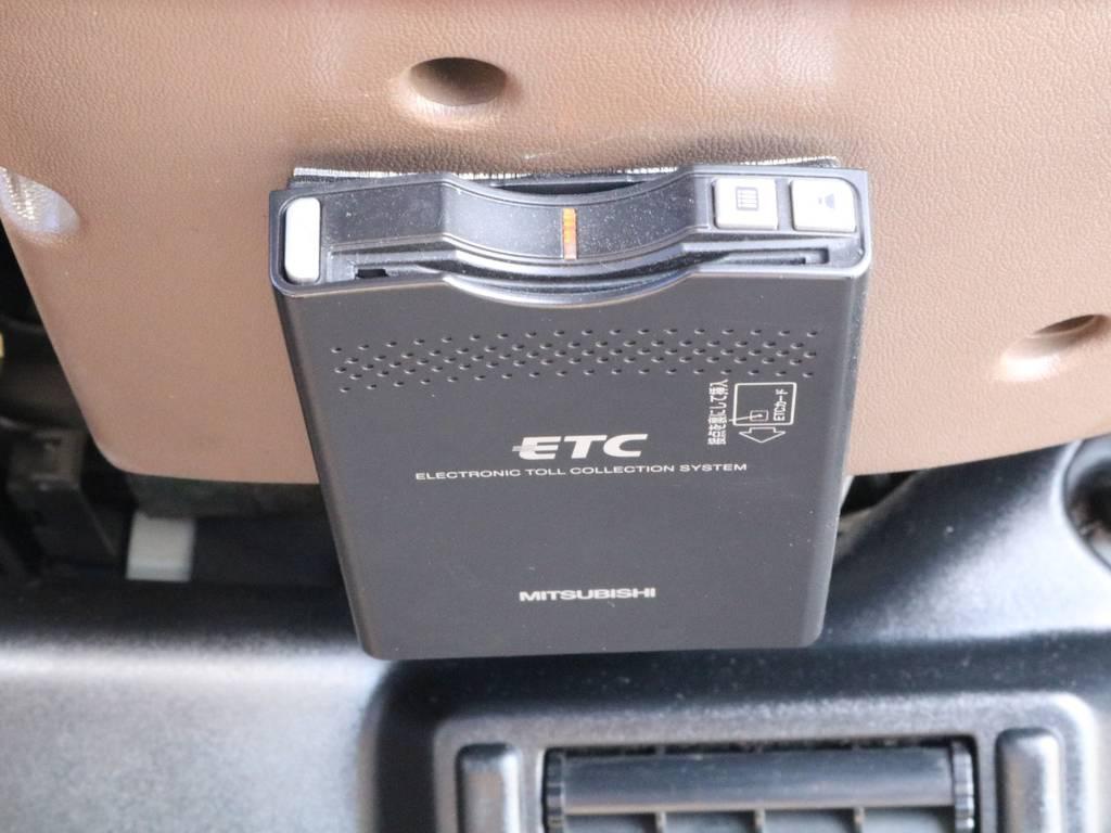 新品ETC装着。どこまでも走っていけますね!   トヨタ ランドクルーザープラド 3.0 SX ディーゼルターボ 4WD