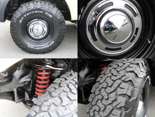 BFGタイヤにDEANアルミホイール装着されております! | トヨタ ランドクルーザープラド 2.7 TX 4WD