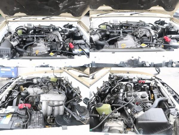 エンジンルームも綺麗で機関の状態も良好です! | トヨタ ランドクルーザープラド 2.7 TX 4WD