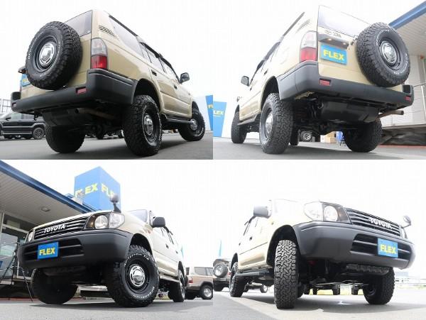 NEWペイント塗装されているので外装の状態抜群です! | トヨタ ランドクルーザープラド 2.7 TX 4WD