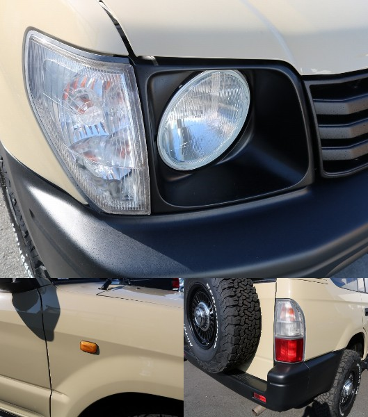 丸目に換装されていてお洒落でもありかわいいです。 | トヨタ ランドクルーザープラド 2.7 TX 4WD