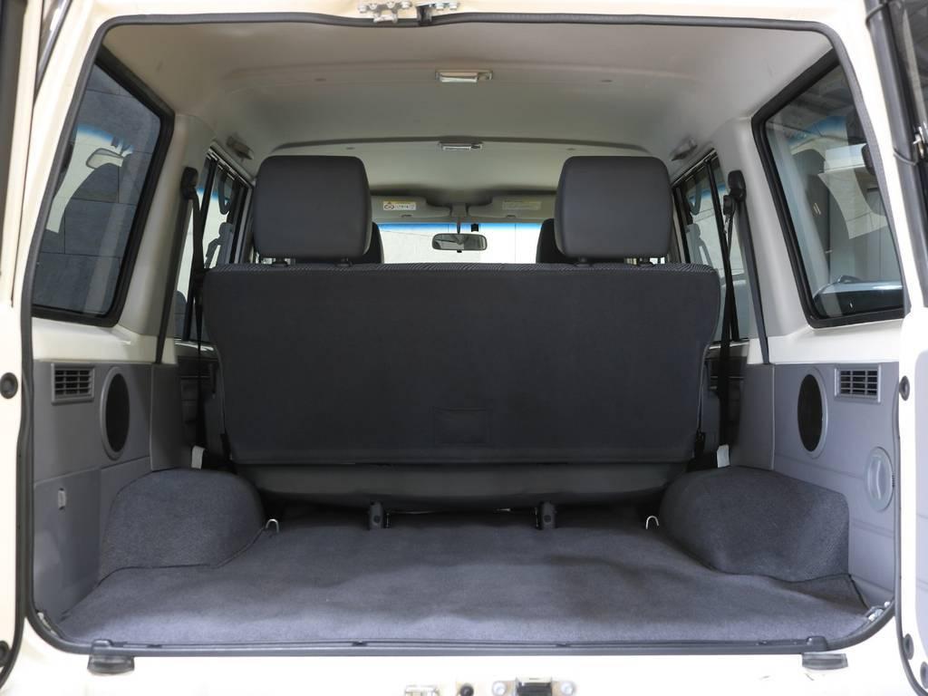 5人乗り!荷室には何を積み込みますか? | トヨタ ランドクルーザー70 4.0 4WD 30thアニバーサリー
