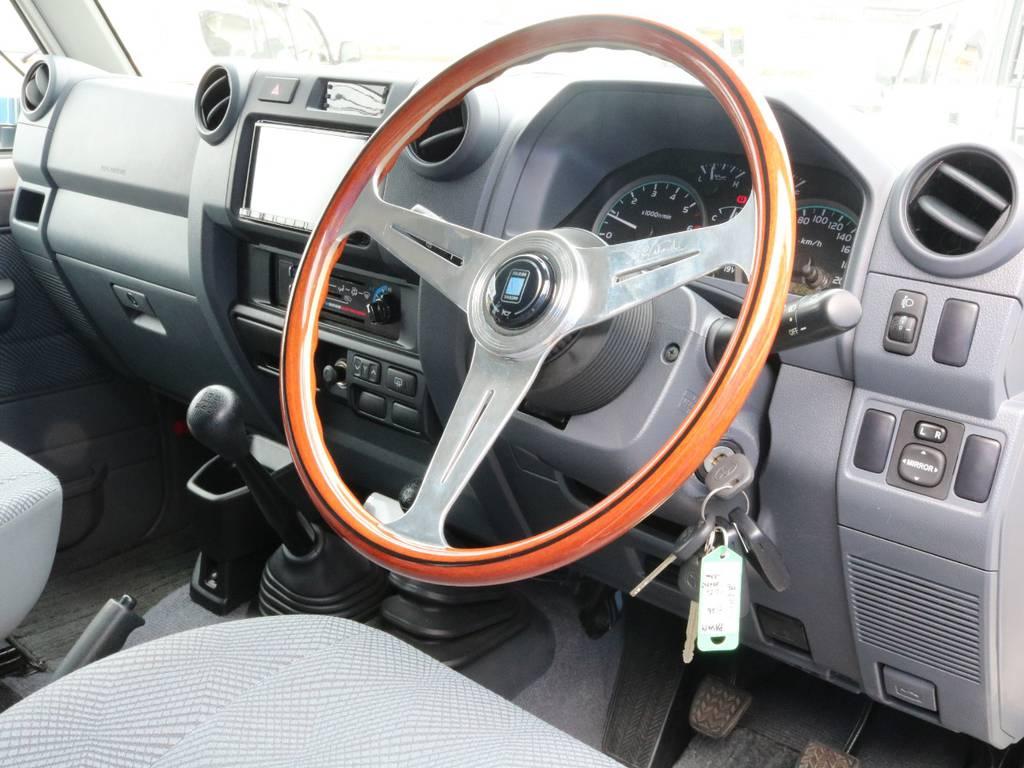 古き良さの雰囲気も残しつつ新しさも取り入れた復刻版です。 | トヨタ ランドクルーザー70 4.0 4WD 30thアニバーサリー