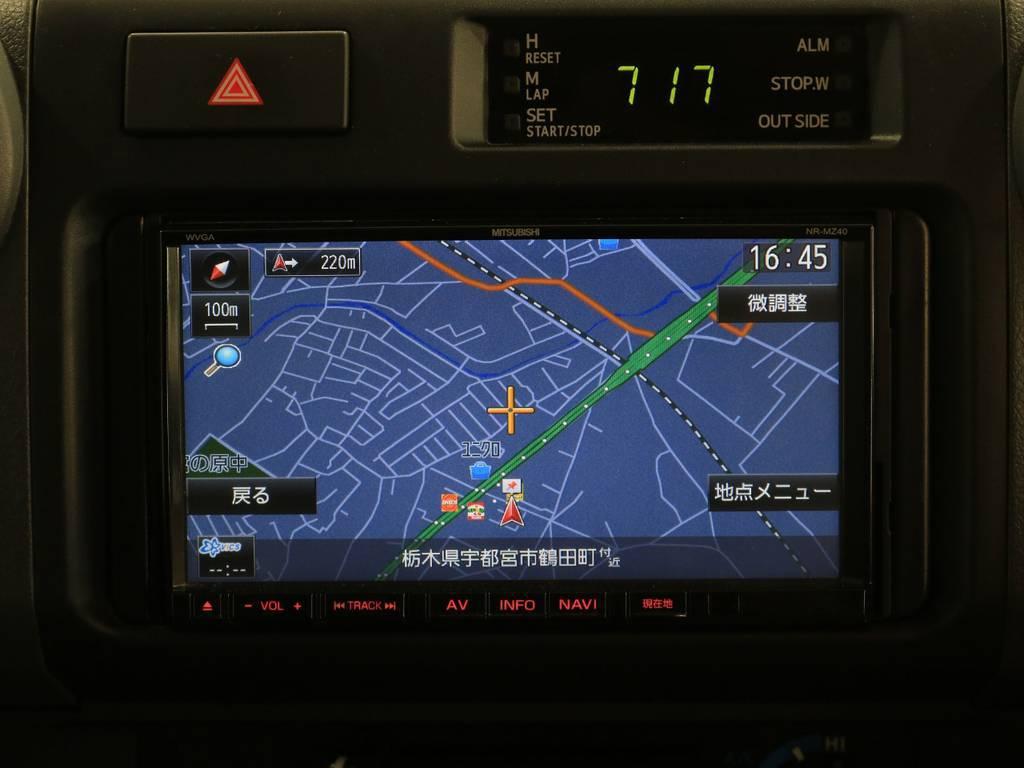 ナビ装備 | トヨタ ランドクルーザー70 4.0 4WD 30thアニバーサリー