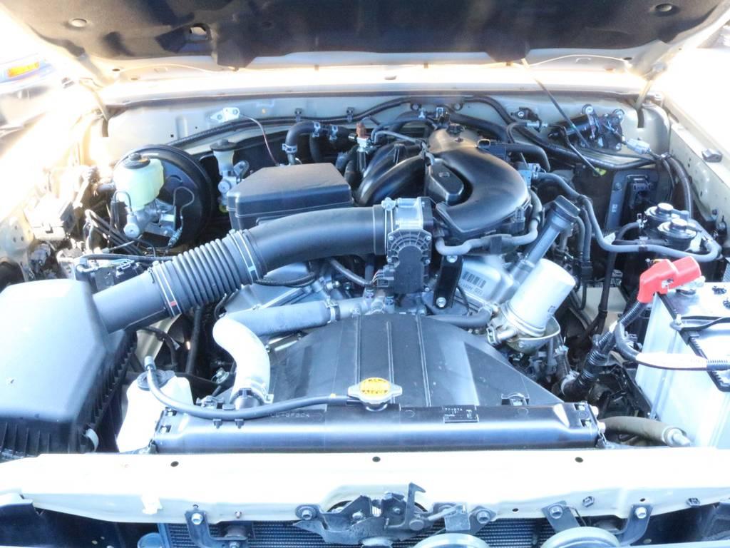 4000CCのビッグエンジンです!!