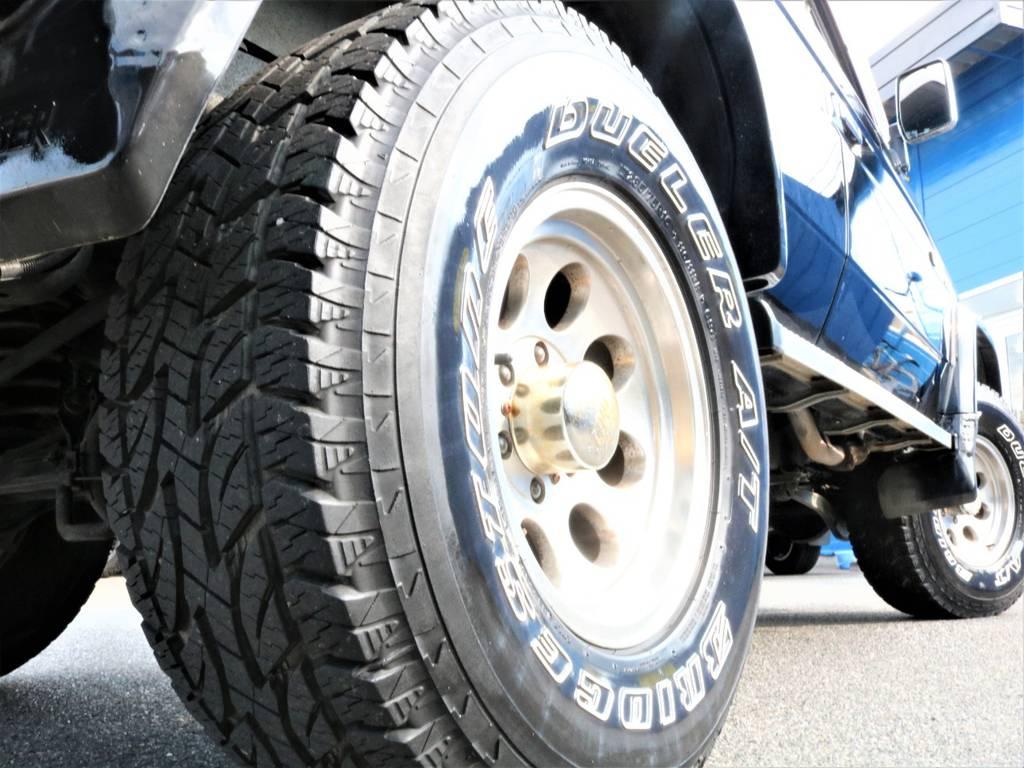 ミッキートンプソン16インチホイール装着! | トヨタ ランドクルーザープラド 3.0 SXワイド ディーゼルターボ 4WD