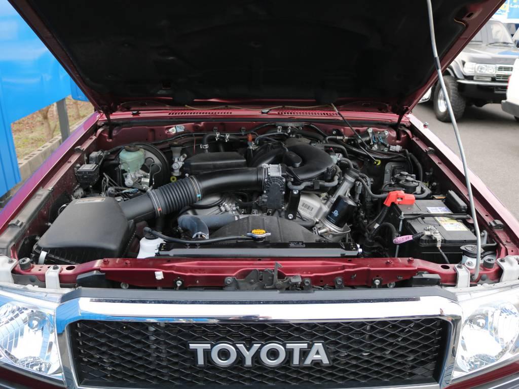 V6エンジン4000CCの走りをご堪能下さい。