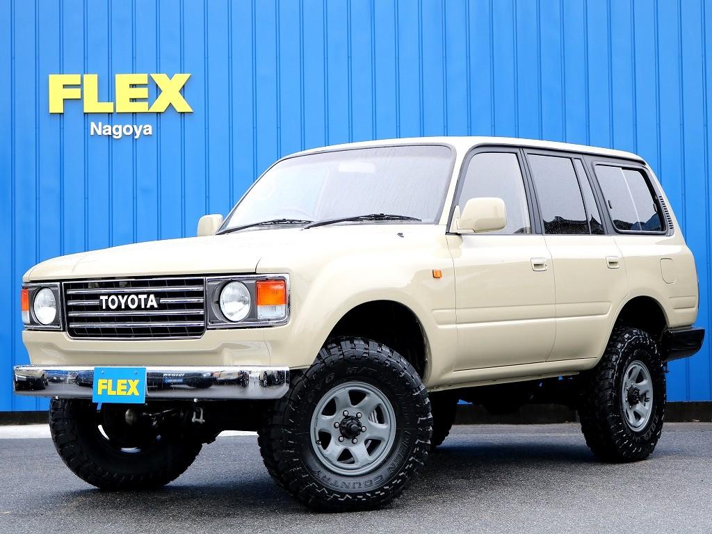 FLEXオリジナル リノベーションカー 【リノカ】86丸目 ベージュ 平成7年式後期型 3インチリフトアップ車の入庫です!