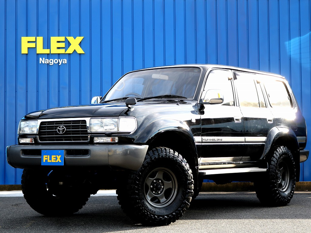 ランドクルーザー80 VX 希少最終202ブラック ガソリン5速MT 3インチリフトアップ車のご案内です!!